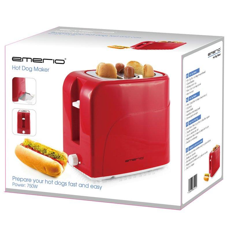 emerio hotdog maker korv grill bbq k pa f r hemmabruk. Black Bedroom Furniture Sets. Home Design Ideas