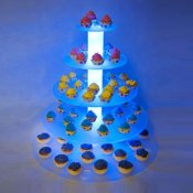 Illuminated Display Stand - 5 Tier
