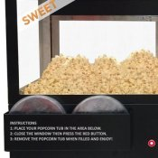 Self Serve Popcornmachine, Sephra