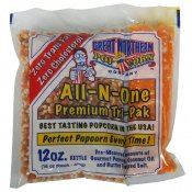 Portionsförpackning 12 oz Great Northern Popcorn Company