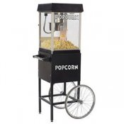 Gold Medal 2404MD - Black 4oz Pop Corn Popper Including Cart