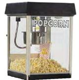 Fun Pop 4oz Svart Popcornmaskin 2404MD
