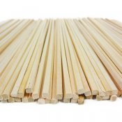 Bamboo Square cut sticks