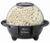 popcornmaskin big popper 6398 obh nordica