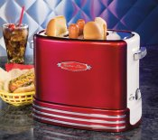 Retro popup hot dog toaster, retro line