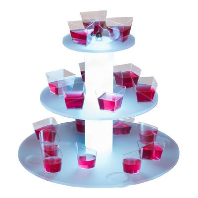 Illuminated Display Stand - 3 Tier