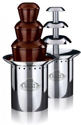 chocolate fountain Giles and Posner CF 750