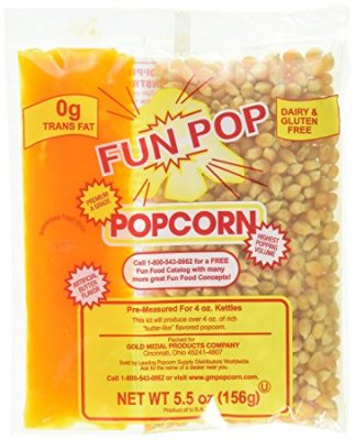 Gold Medal Fun pop 4 oz all in one popcorn kit