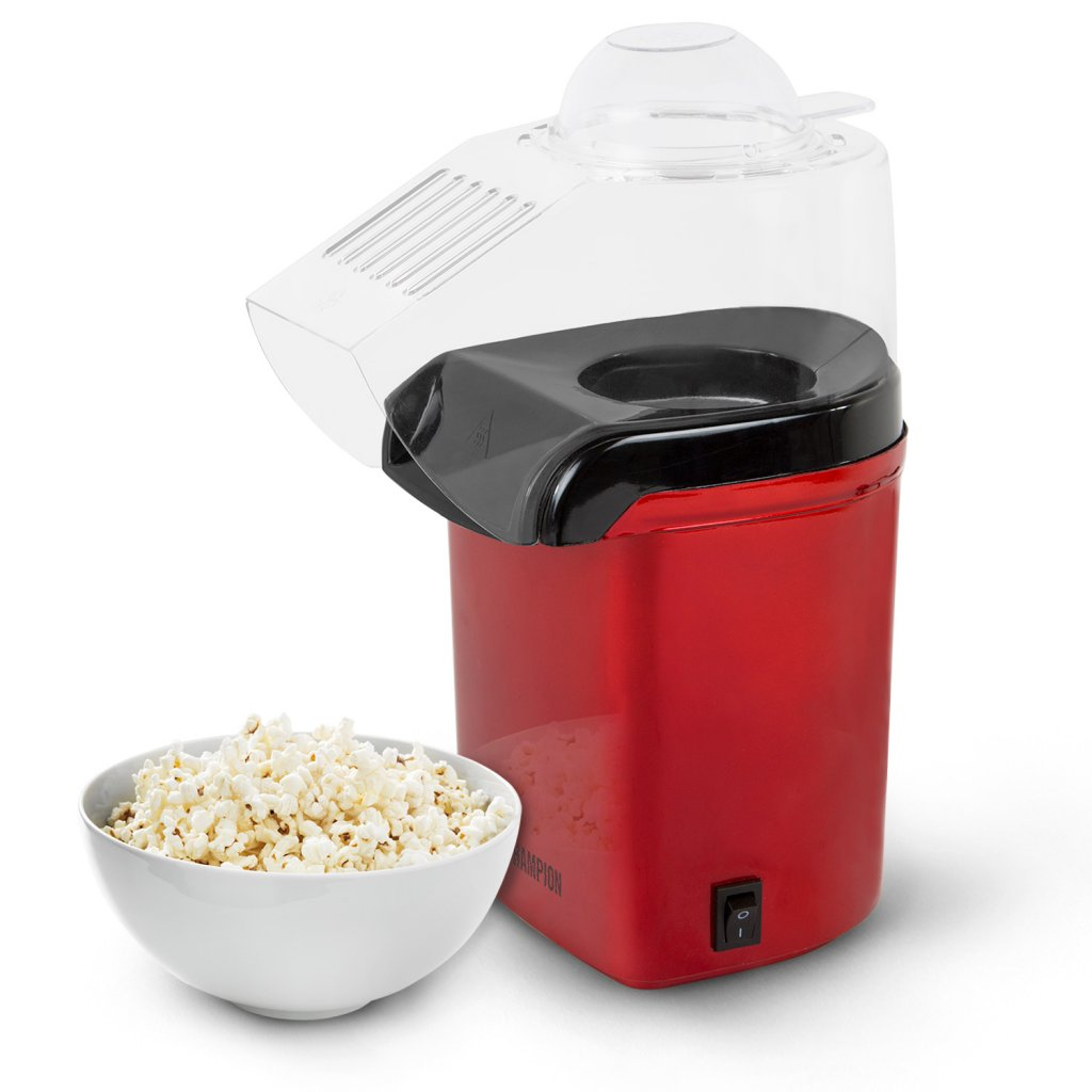 popcornmaskin med smör